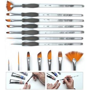 Kit de pinceaux Nail Art - 7 pinceaux petits et fins pour les ongles