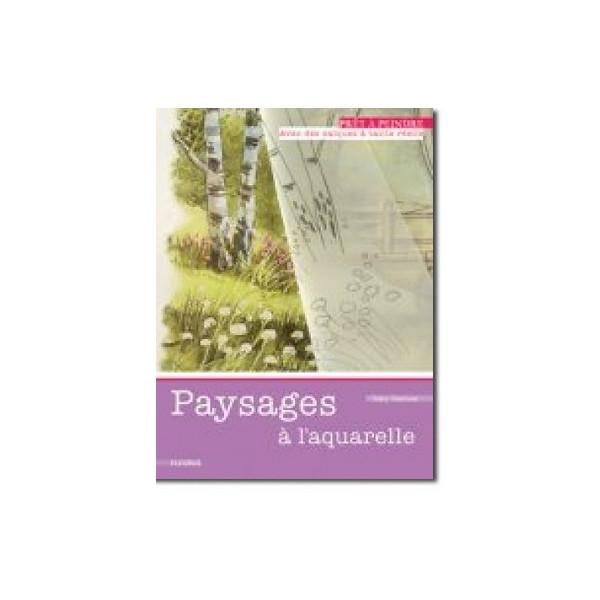 Paysages a l'aquarelle - Livre + calques