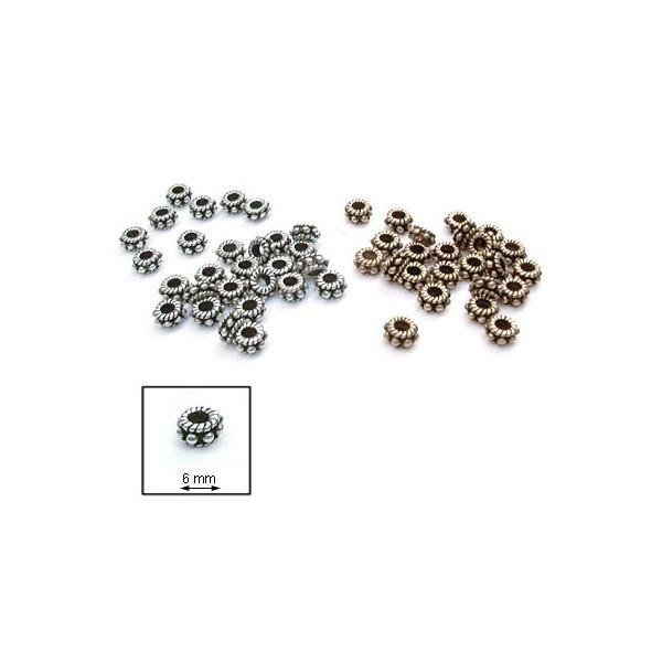 Elément métallique - Anneaux à boules