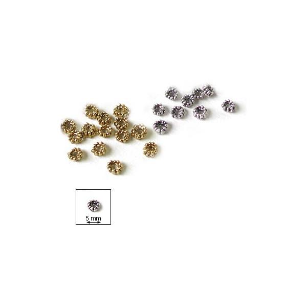 Elément métallique - Anneaux crantés