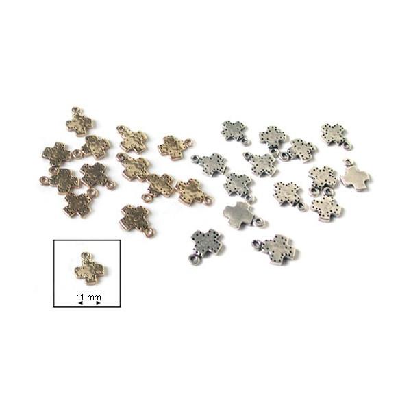Elément métallique - Breloque - Croix