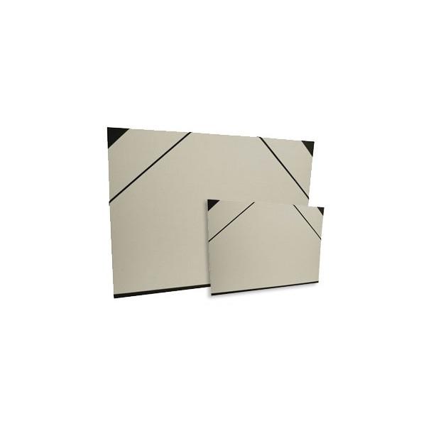 Carton à dessin brut à élastiques, personnalisable