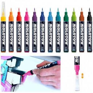 Feutre pinceau GRAFX rechargeable - Molotow