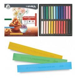 Pastels tendres Polycrayons Soft - Lyra