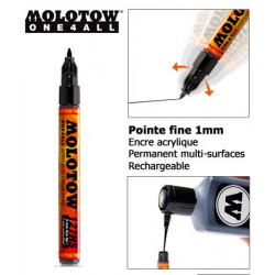 Marqueur One4all - 1mm - 127HS-EF - Molotow