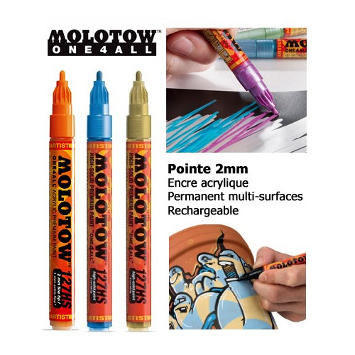 Marqueur One4all - 2mm - 127HS - Molotow