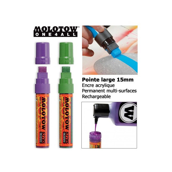 Marqueur One4all - 15mm - 627HS - Molotow