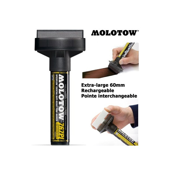 Marqueur Masterpiece Speedflow - 60mm - Molotow