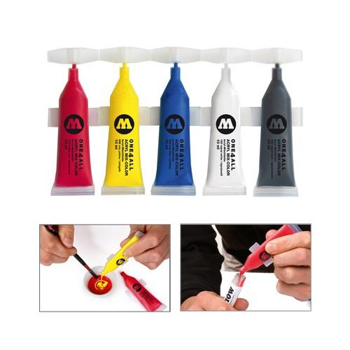 pack de 5 recharges molotow de peinture acrylique pour marqueur molotow. Black Bedroom Furniture Sets. Home Design Ideas