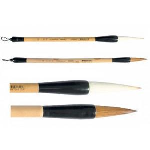 Pinceau calligraphie en poils de loup - série 5520RO - Léonard
