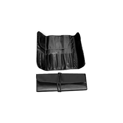 Trousse souple noire pour pinceaux