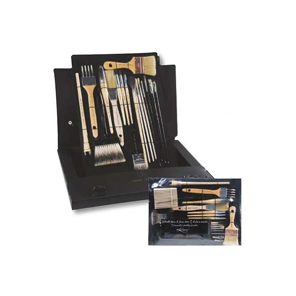 Kit décoration faux marbre & faux bois - Léonard