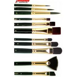 pinceaux pour peinture l 39 huile acrylique brosses pinceaux leonard pinceaux manet creastore. Black Bedroom Furniture Sets. Home Design Ideas