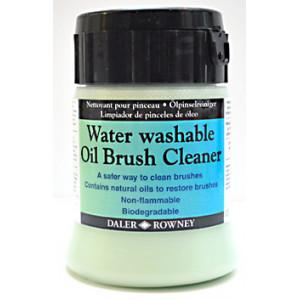 Nettoyant pour pinceaux - lavable à l'eau, spécial huile