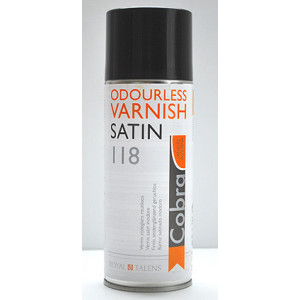 Vernis satin Cobra de Talens - Spray 400 ml