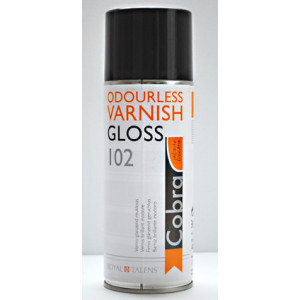 Vernis brillant Cobra de Talens - Spray 400 ml