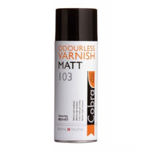 Vernis mat Cobra de Talens - Spray 400 ml