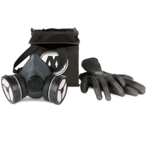 Pack protection - Masque + gants + sacoche - Molotow