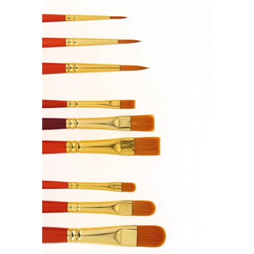 Pinceaux fibres synthétiques - série 20 - Léonard
