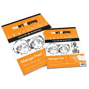 Bloc Manga - 50 feuilles 70 gr - Daler Rowney