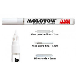Marqueur vide 111EM 2mm- Molotow