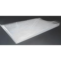 Pochette plastique de protection pour carton mousse