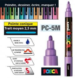 Marqueur POSCA PC-5M, pointe conique 2,5 mm