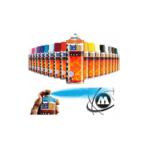 Bombe de peinture Premium Molotow - graffiti