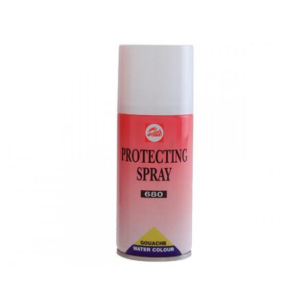 Aérosol de protection pour aquarelle et gouache