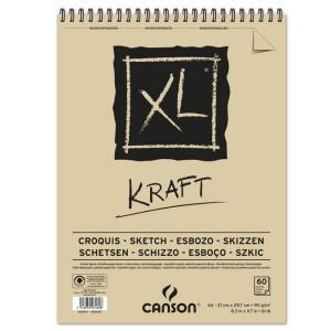 Bloc Canson XL papier Kraft