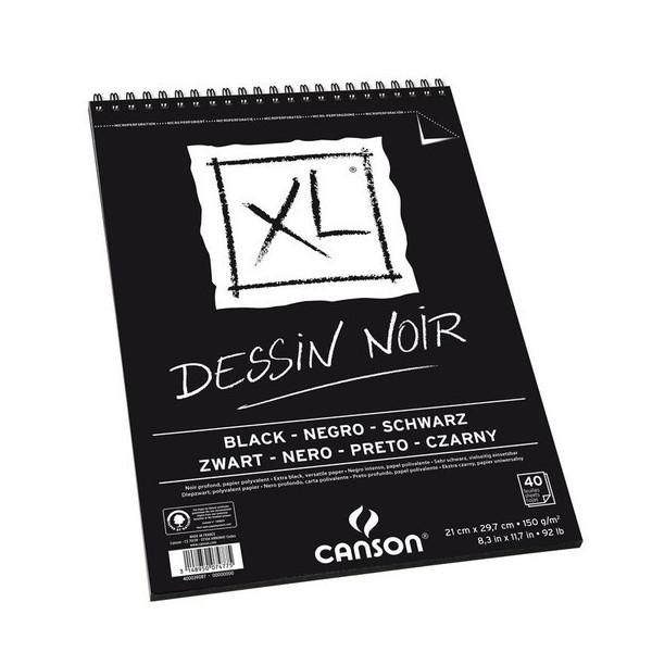 Bloc de papier noir CANSON XL