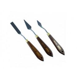 Pack de 3 couteaux à peindre - Pébéo