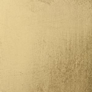 Feuilles d'or demi-jaune vif - collé - 80x80mm