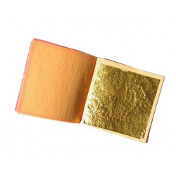 Feuilles d'or (imitation) - 95x95mm