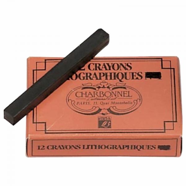 Boîte 12 crayons lithographique n°3 (gras) - charbonnel