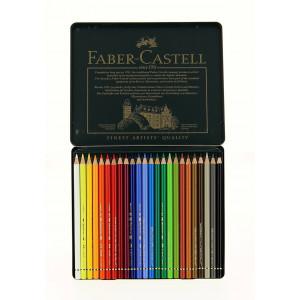 Boîte de crayons de couleurs Polychromos - Faber-Castell