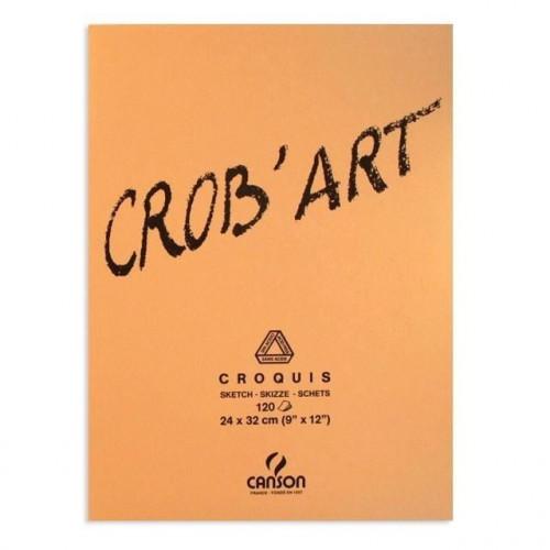 Bloc Crob'art  pour esquisse et croquis - 12 feuilles 80gr