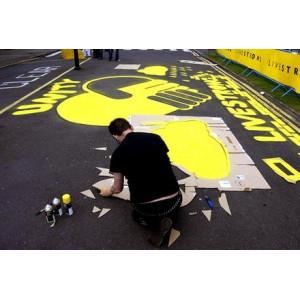 Bombe peinture craie - Molotow