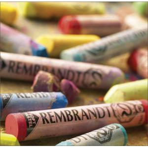 Pastel sec Rembrandt