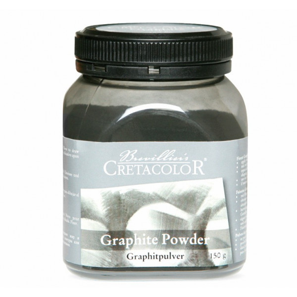 Poudre de graphite - Crétacolor