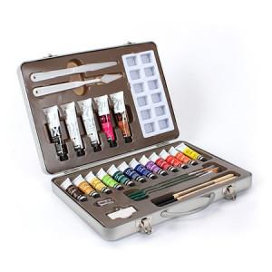 Coffret métal peinture huile studio XL - Pébéo