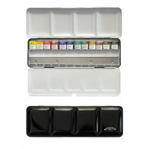 Boîte d'aquarelle extra-fine Black Box - Winsor & Newton