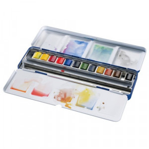Boîte d'aquarelle Cotman Blue Box - Winsor & Newton