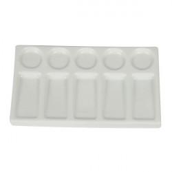Palette rectangle en porcelaine - Manet