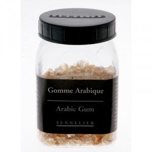 Gomme arabique en grains - Sennelier
