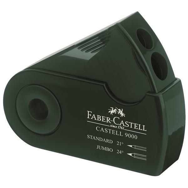 Taille-crayon avec réservoir Castell 9000