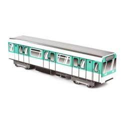 """Métro """"Paris"""" en carton à customiser - Molotow"""