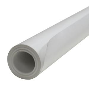 Rouleau de papier kraft blanc et lisse - 60gr/m²