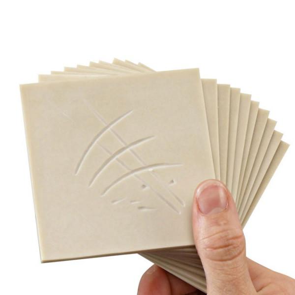 Plaque de gomme à graver - 3mm