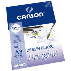 Bloc papier Imagine - 200gr/m² - Canson
